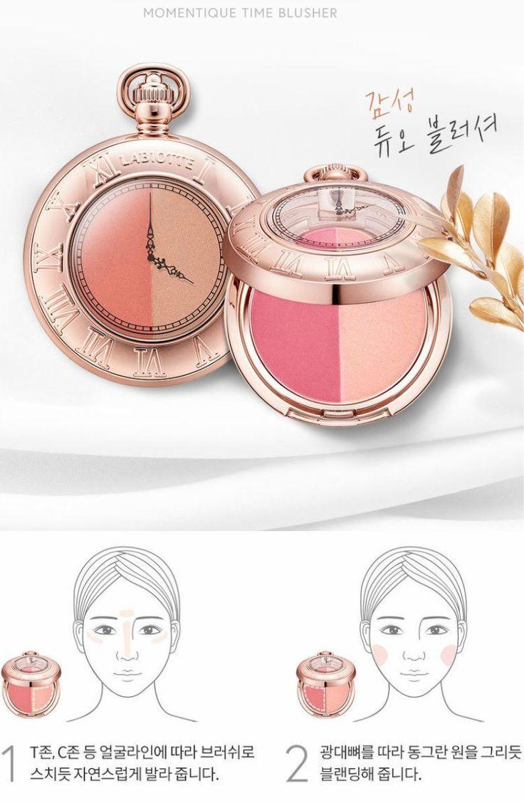 LABIOTTE - Momentique Time Blusher (4 Colors) #koreanmakeup #blush #labiotte