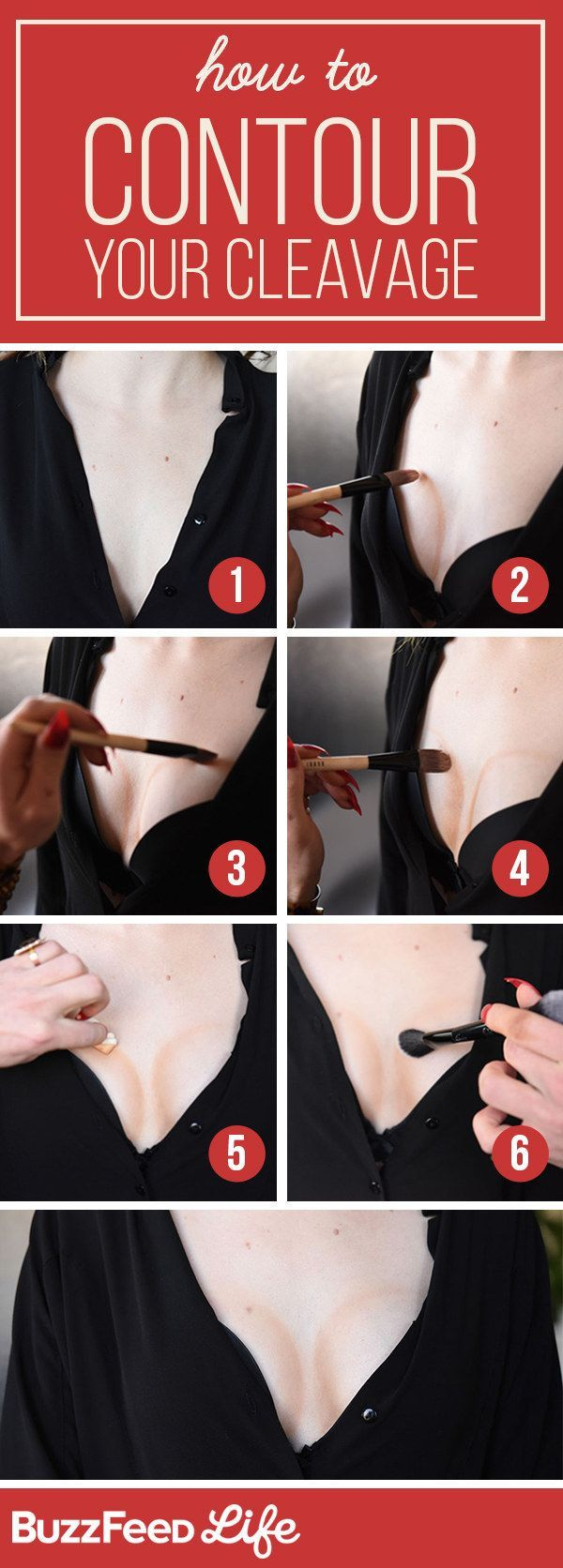 Makeup Miracles: How To Make Any Boobs Look Bigger...Woah, you can do anything w...