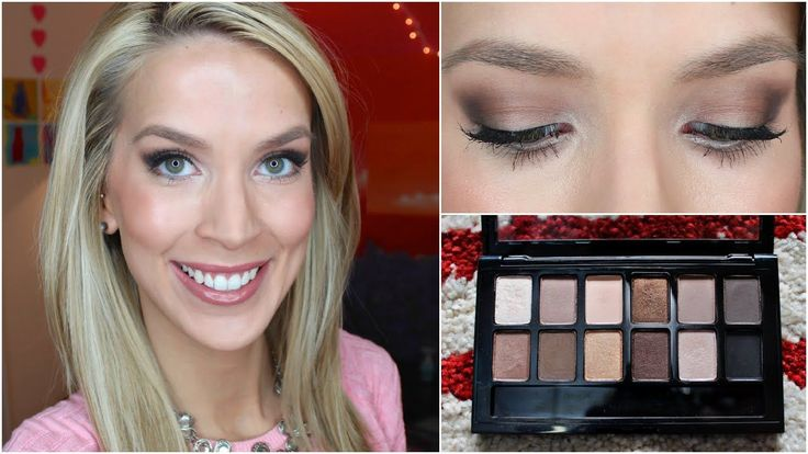 Makeup Tutorial: Nude Night Out {this is a great way to use the NEW Maybelline T...
