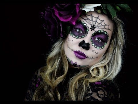 Need help with your Day of the Dead makeup for halloween this year? We found the...