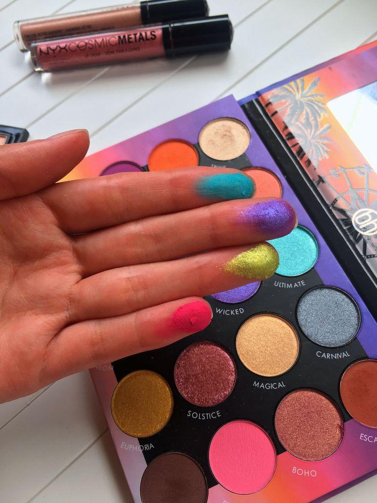 Pinterest- daria_christine bh cosmetics palette #makeup #swatches #tutorial #eye...