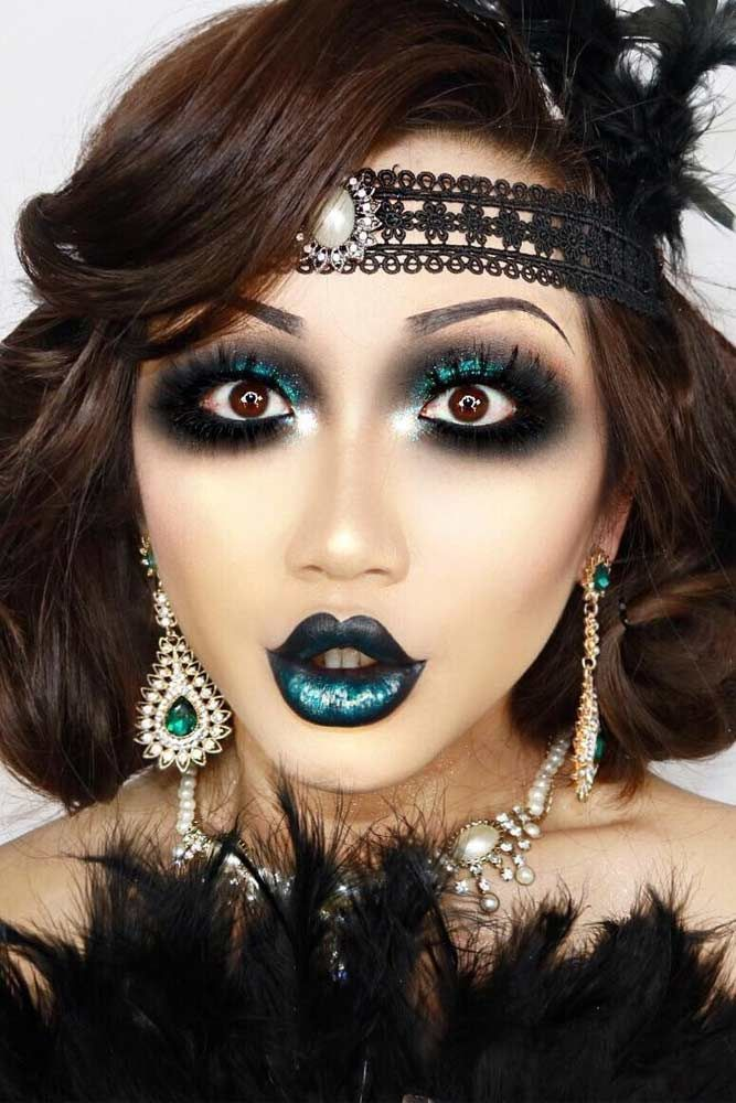 Pretty Halloween Makeup Ideas Youll Love ★ See more: glaminati.com/...
