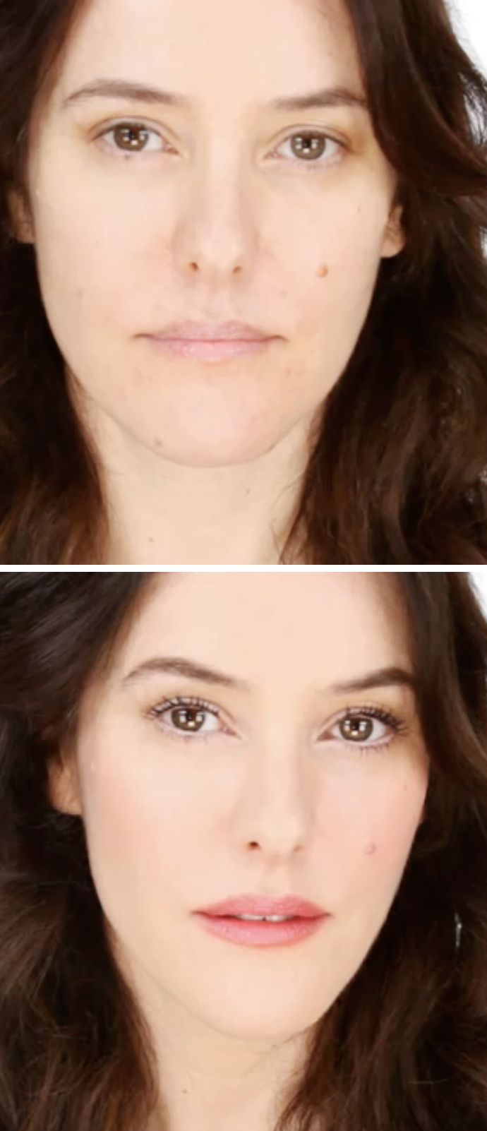 Quick Brightening Makeup Tutorial -Good for days when your are looking tired or ...