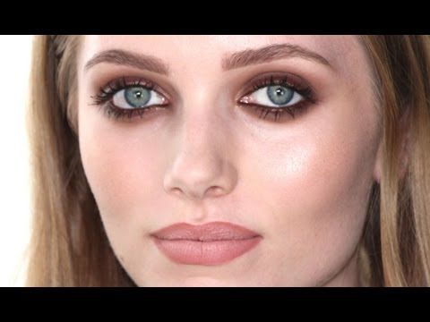 Smokey Grunge Makeup Tutorial (not sure how this would look on olive or darker s...