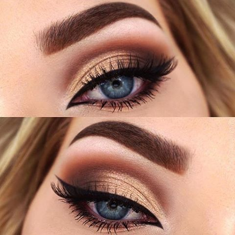 Makeup Ideas 2017/ 2018 , Thanksgiving eye makeup
