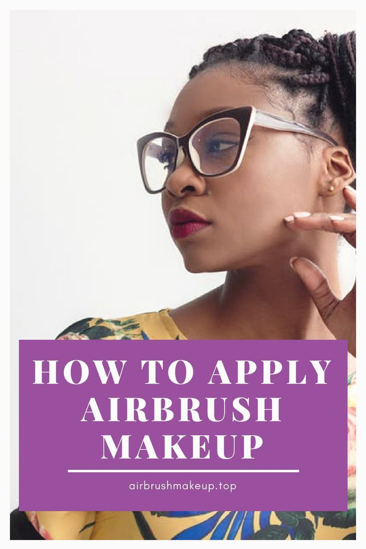 The airbrush makeup technique is largely used in the movie industry mainly becau...