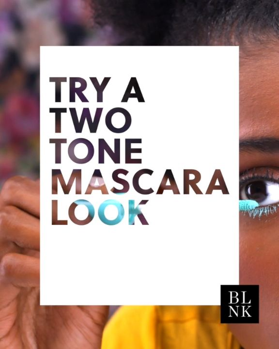 Try a Two Tone Mascara Look #blinkbeauty #mascara #beautytrends