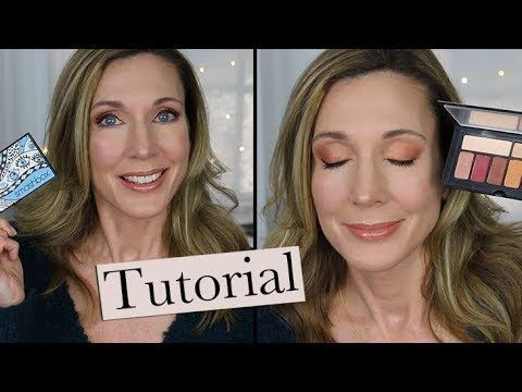 Warm Copper Spring Makeup Tutorial! - YouTube