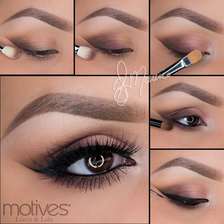 We have the tutorial for you of the previous look by professional makeup artist ...