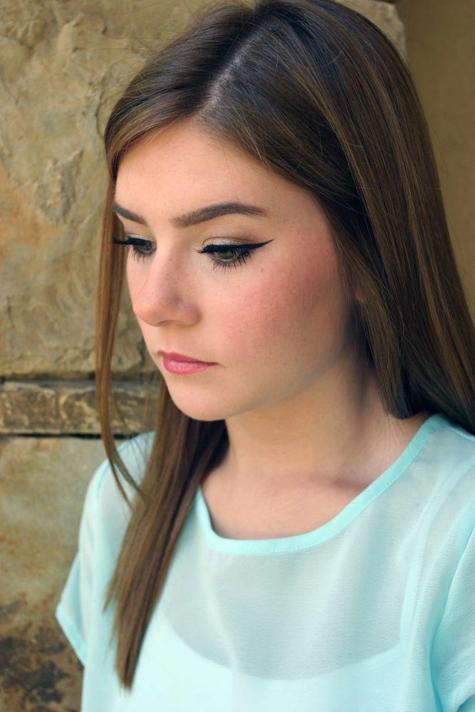 eye makeup and brows