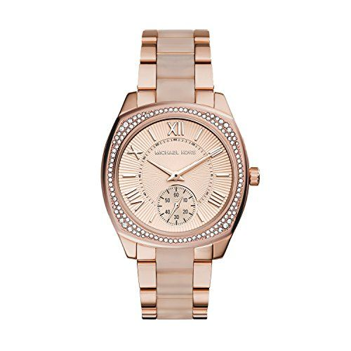 Michael Kors Women's Bryn Rose Gold-Tone Watch MK6135 -- Visit the image lin...