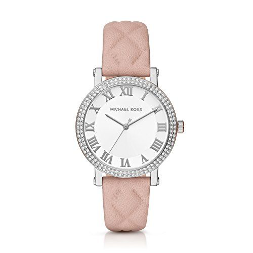 Michael Kors Womens Norie Pink Watch MK2617 *** More info could be found at the ...