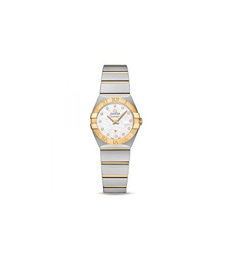 Omega Constellation Mother of Pearl Dial Ladies Watch 123.20.24.60.55.008 -- Det...