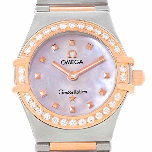 Omega Constellation quartz womens Watch 13687100 Certified Preowned -- See this ...