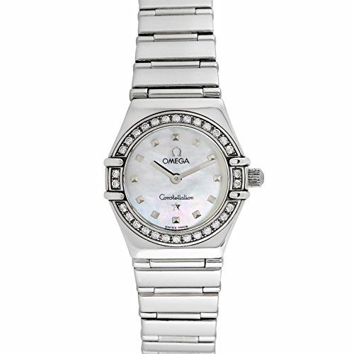 Omega Constellation swiss-quartz womens Watch 14657100 (Certified Pre-owned) ** ...