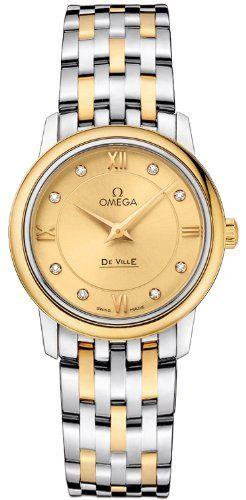Omega De Ville Prestige Quartz 274mm Womens Watch 42420276058001 ** You can find...