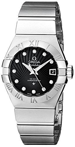 Omega Women's 123.10.27.20.51.001 Constellation Co-Axial Automatic 27mm Swis...