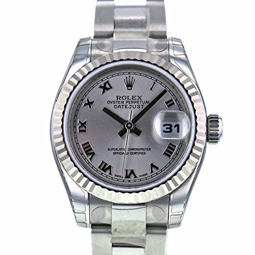 Rolex Datejust swiss-automatic womens Watch 179174 (Certified Pre-owned) -- See ...