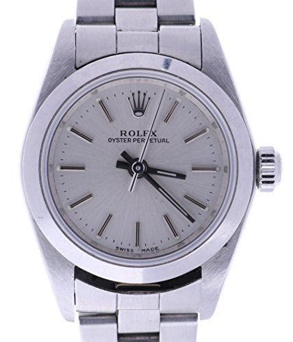 Rolex Oyster Perpetual automatic-self-wind womens Watch 76080 (Certified Pre-own...