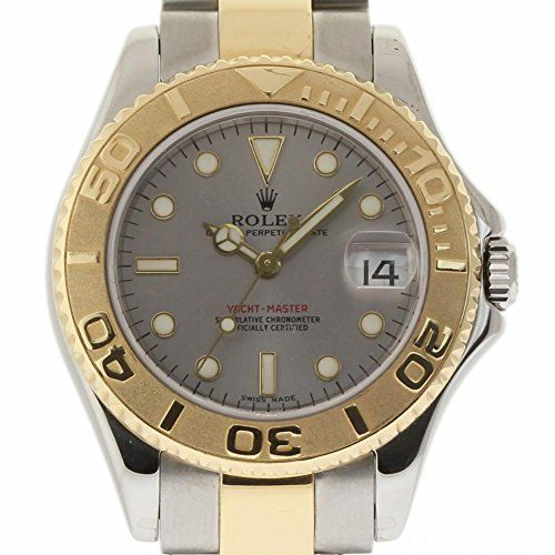 Rolex Yacht-Master swiss-automatic womens Watch 168623 (Certified Pre-owned) * R...