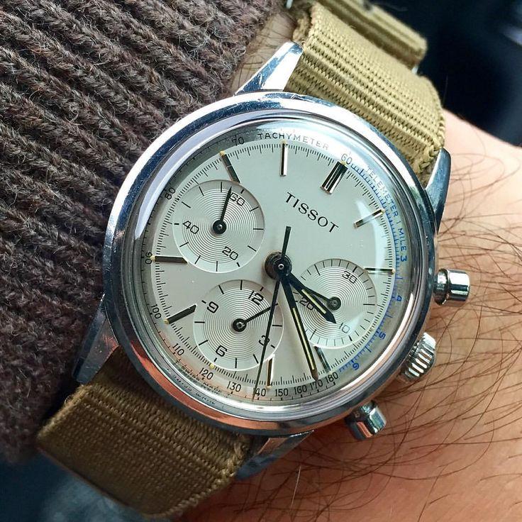 1960's Tissot Chronograph #tissot #tissotchronograph #chronographwatches…