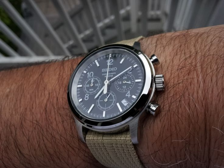 Seiko Men's Chronograph 100M Sports Watch SSB007P1