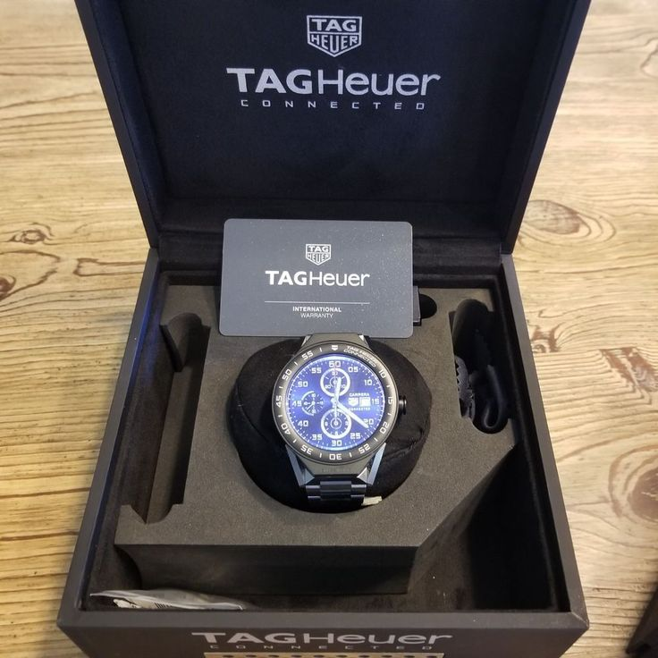 Tag Heuer Connected Modular 45 Smart Watch & EXTRAS! Great Package Deal!