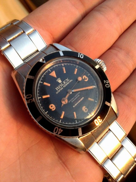Vintage Rolex Collectors Would Kill for such a piece....the Rolex Submariner Ref...