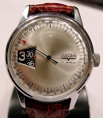 Vulcain Jump Hour watch.