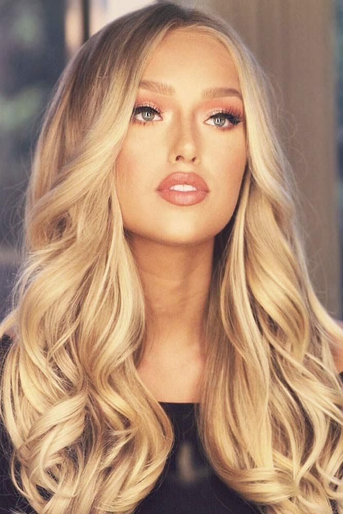 All Over Honey Blonde Coloring #blondehair #honeyblonde ❤️ Want to pull off ...