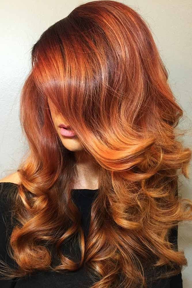 Auburn Red Highlights #redhair #highlights ❤️ Want to spice up your hair wit...