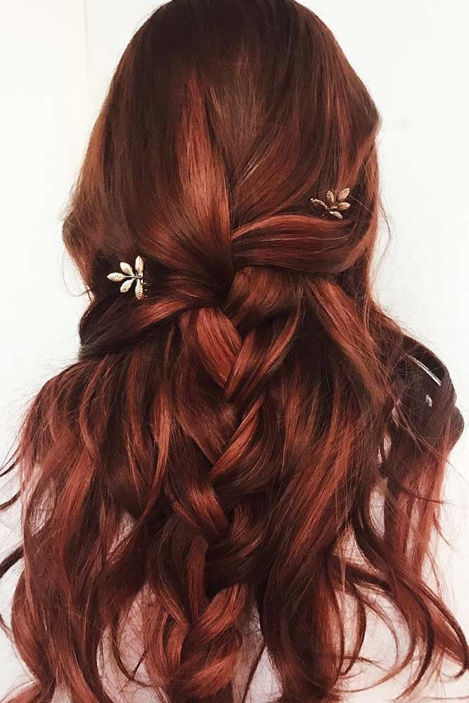 Berry-like Highlights #brunette #redhair #highlights ❤️ Want to spice up you...