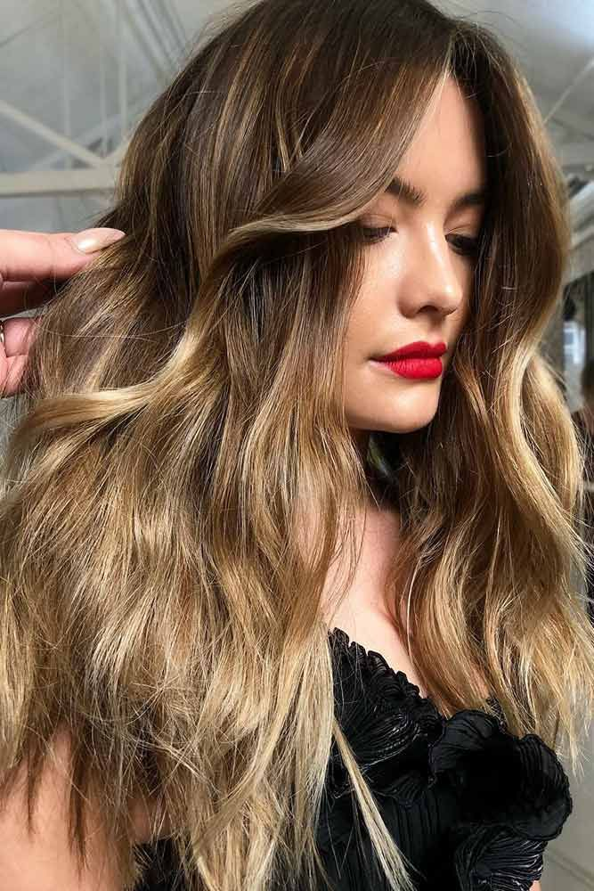 Blonde-To-Brunette Balayage #brownhair #blondehair #balayage ❤️ Brown hair i...