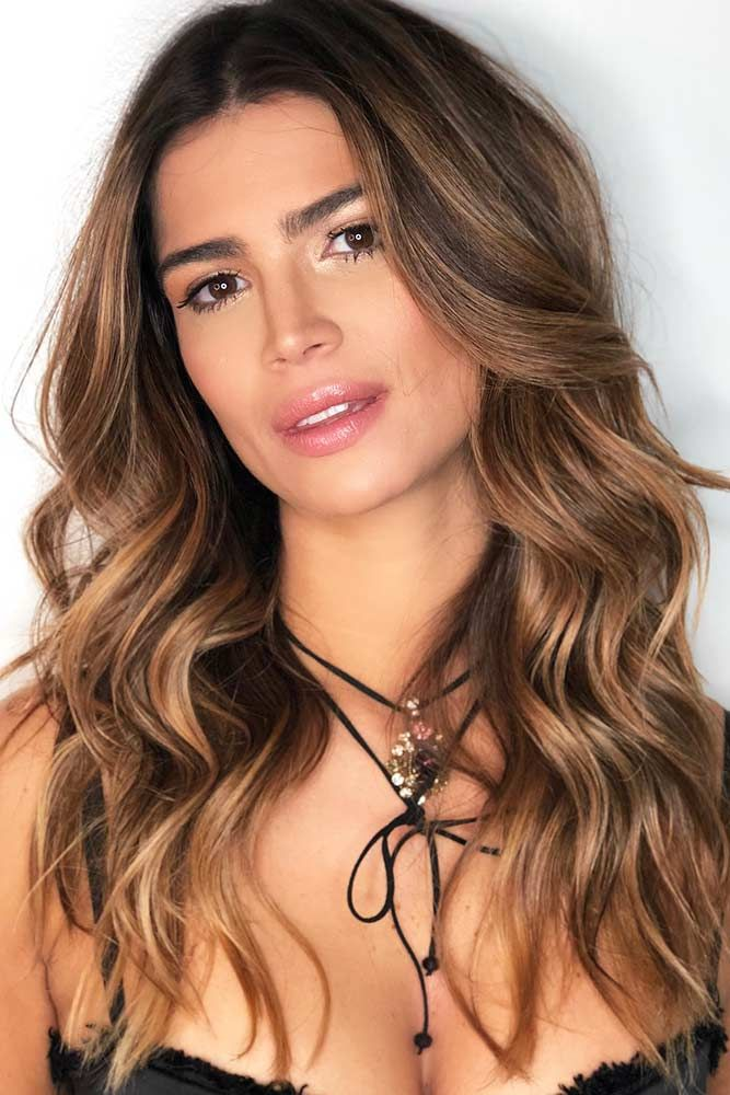 Cinnamon Gold #brownhair ❤️ Brown hair is a charming mixture of the most nat...