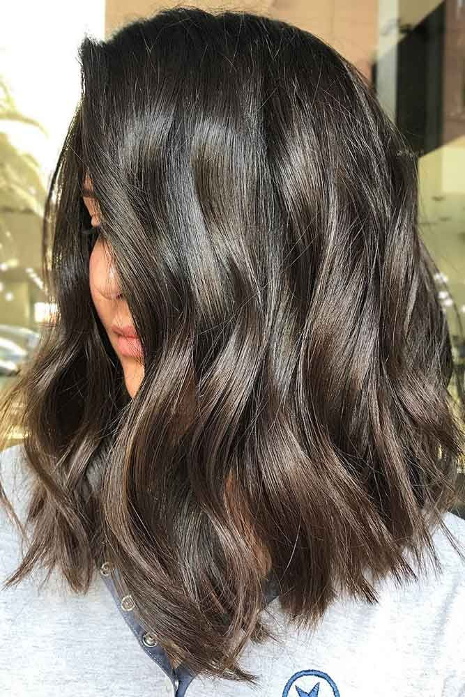 Dark Chocolate Mocha #lowlights #brunette ❤️ If you want to make your hair c...