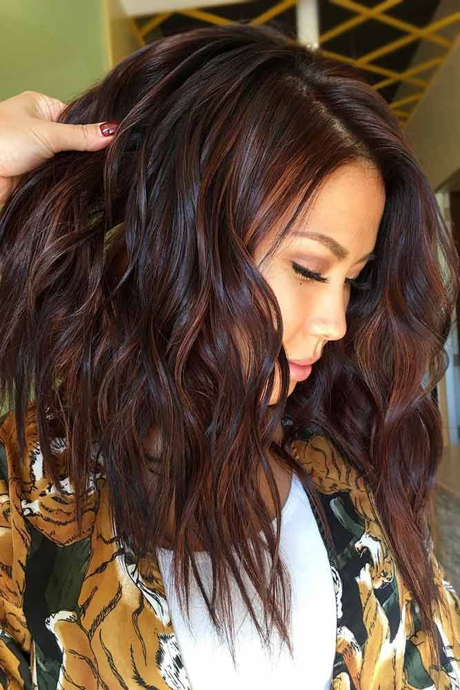 Deep Reddish Brown #brownhair #redhair ❤️ Brown hair is a charming mixture o...