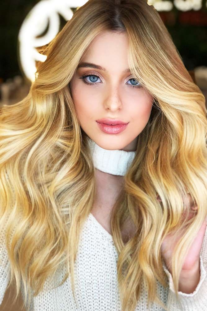 Extra-Dimensional Blonde Highlights #blondehair #honeyblonde #highlights ❤️ ...