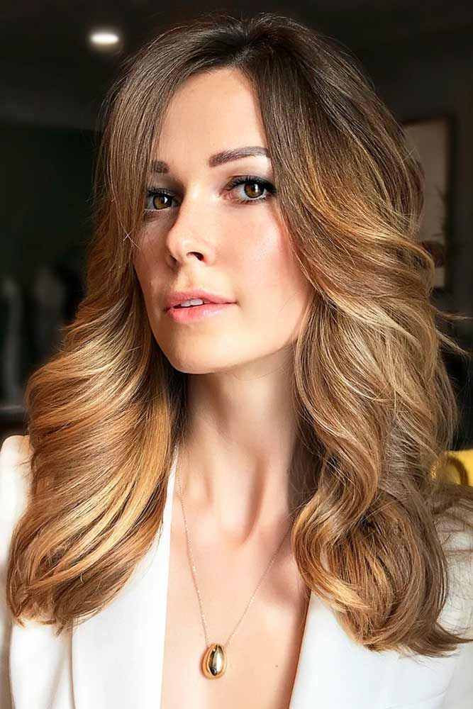 Golden Brown Ombre #brownhair #blondehair #ombre ❤️ Brown hair is a charming...