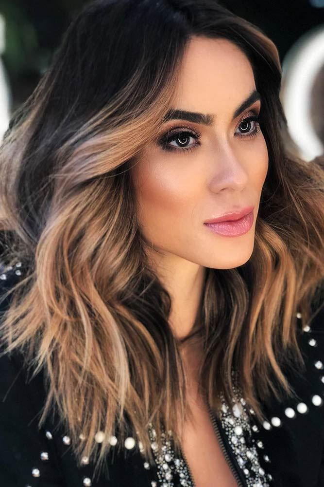 Hair Color - Sandy Beige Face Framing #brunette #balayage ❤️ We have chosen ...