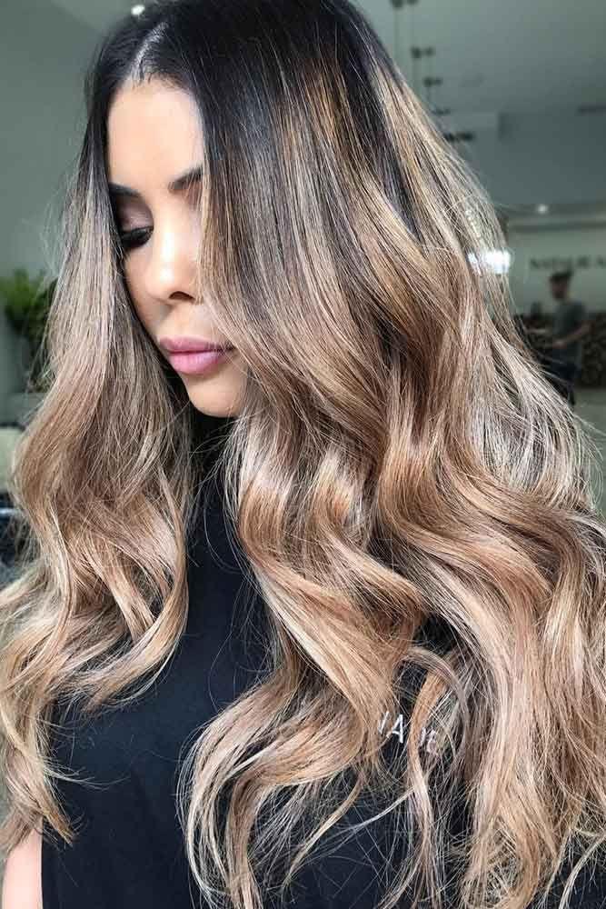 Hair Color - Sandy Beige Ombre #brunette #ombre ❤️ We have chosen the most p...