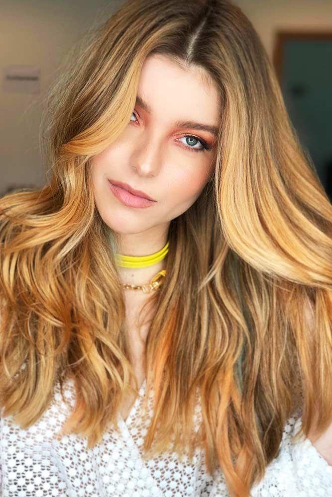 Honey Blonde Base With Warmish Vibes #blondehair #honeyblonde #balayage ❤️ W...
