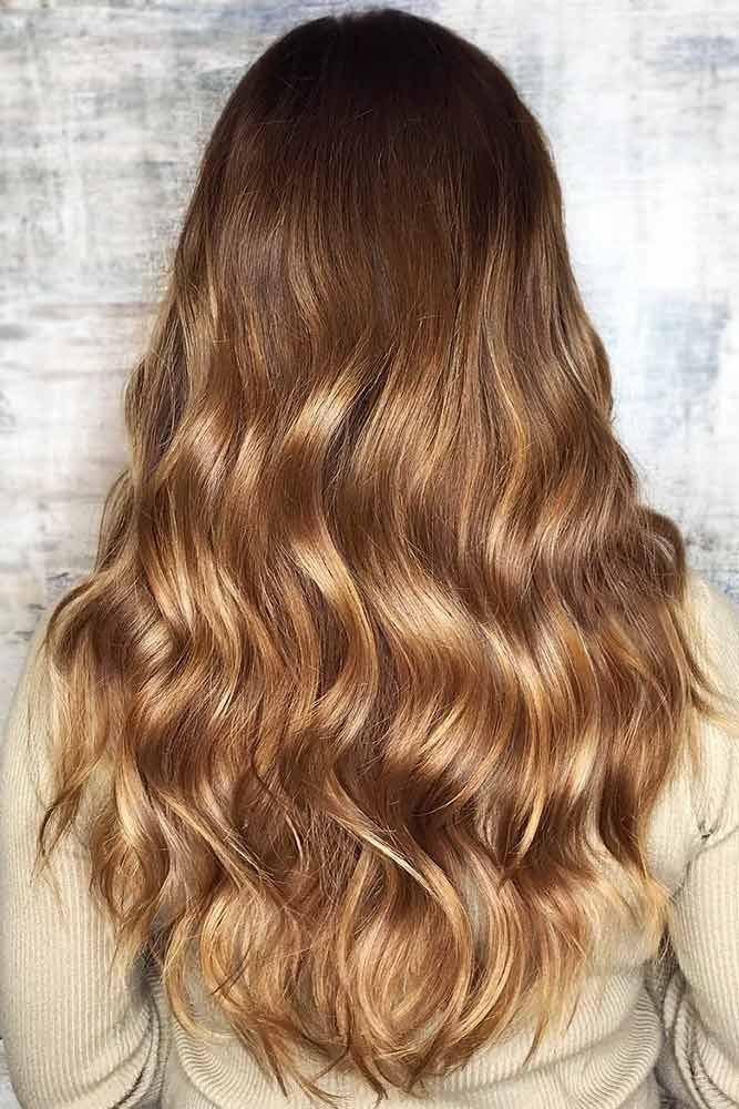 Honey Blonde Brownie #blondehair #brunette #balayage ❤️ Want to pull off eff...