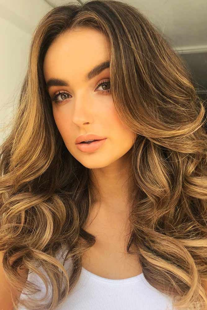 Honey + Coffee Coloring #brunette #blondehair #highlights ❤️ Want to pull of...