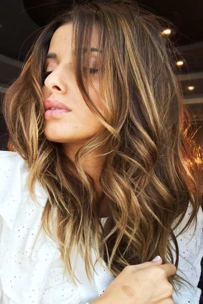 How To Take Care Of Golden Brown Hair #brownhair #highlights ❤️ Brown hair i...