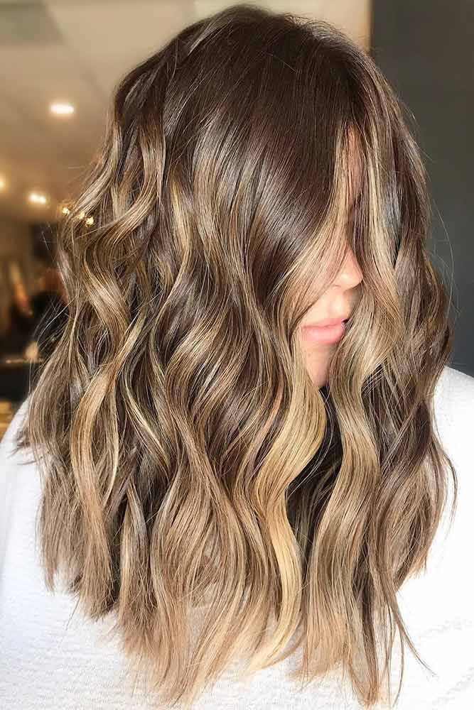 Light Brown With Pastel Gold #brownhair #highlights ❤️ Brown hair is a charm...