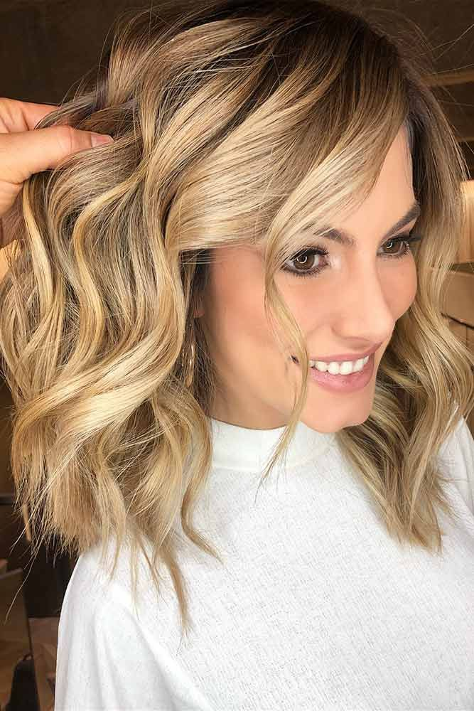 Pastel Honey With Dark Roots #blondehair #honeyblonde # ❤️ Want to pull off ...