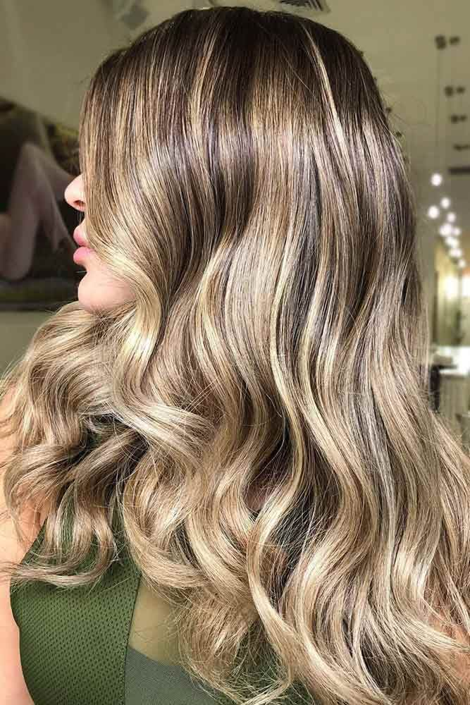 Reasons To Keep A Dark Blonde Hair Color Caramel #blondehair #highlights ❤️ ...
