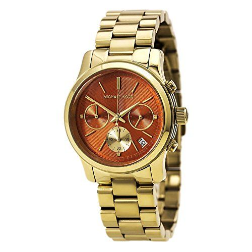 MK6162 Michael Kors Runway Gold-Tone Ladies Watch -- More info could be found at...