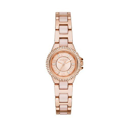 Michael Kors Women's Camille Two-Tone Watch MK4292 ** Click image to review ...