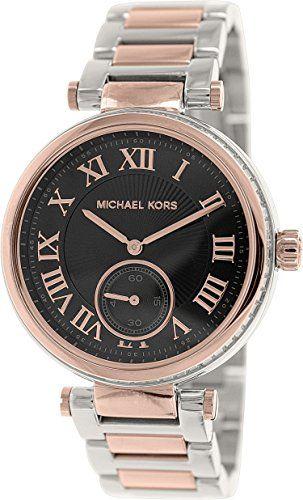 Michael Kors Women's MK5957 Skylar Black Stainless Steel Watch ** Want additiona...